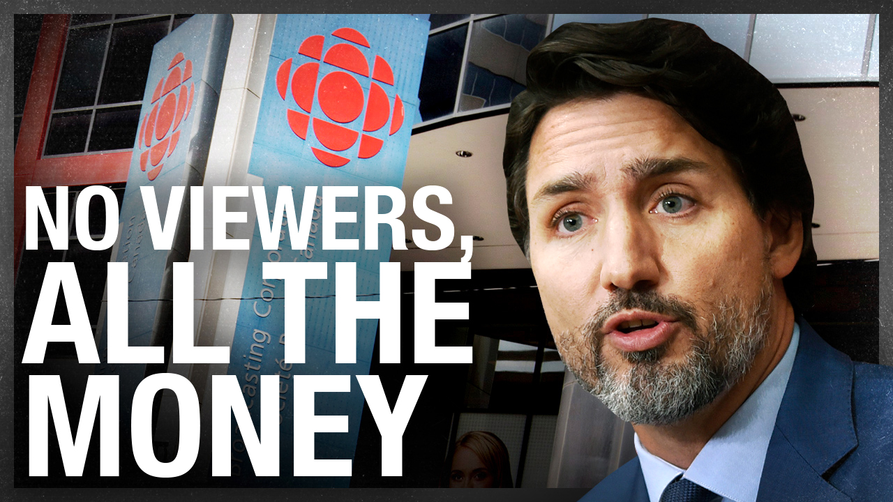 CBC receives $1.3B in federal funding (but nobody watches)