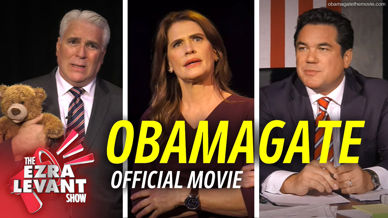 ObamaGate movie succeeds by telling just the facts | Phelim McAleer with Ezra Levant