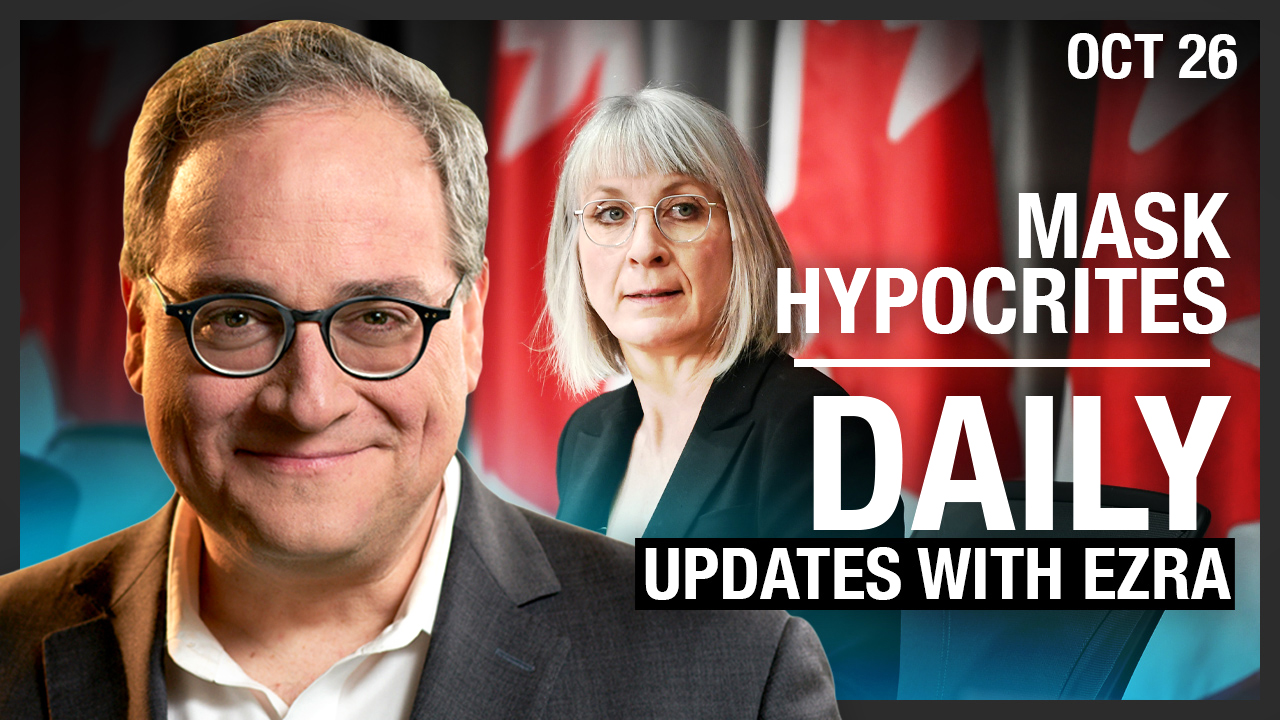 DAILY | Patty Hajdu gets caught: Canada's media, politicians are mask hypocrites (again)