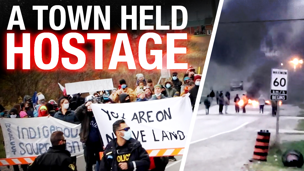 """Tensions high in Caledonia, ON as """"Land Back"""" protests turn violent (again)"""