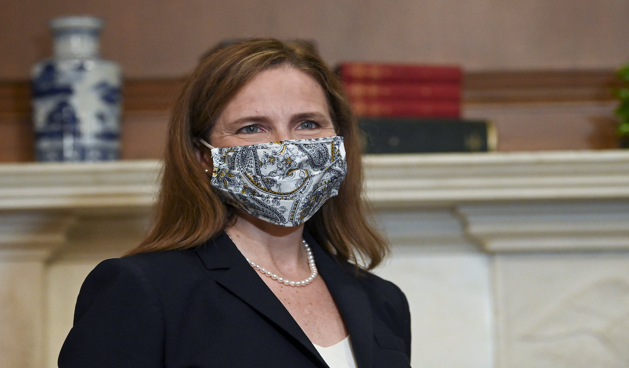 BREAKING: Amy Coney Barrett confirmed to the Supreme Court