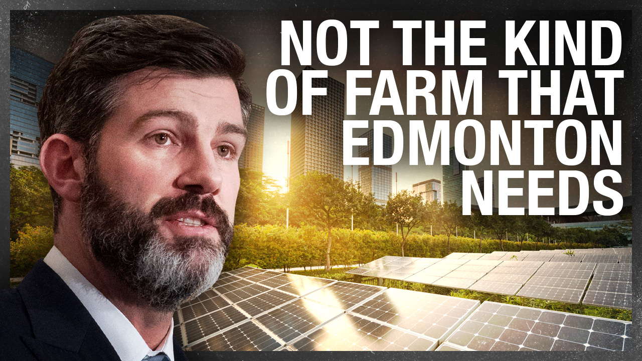 Edmonton is DESTROYING river valley to build $30 MILLION solar farm