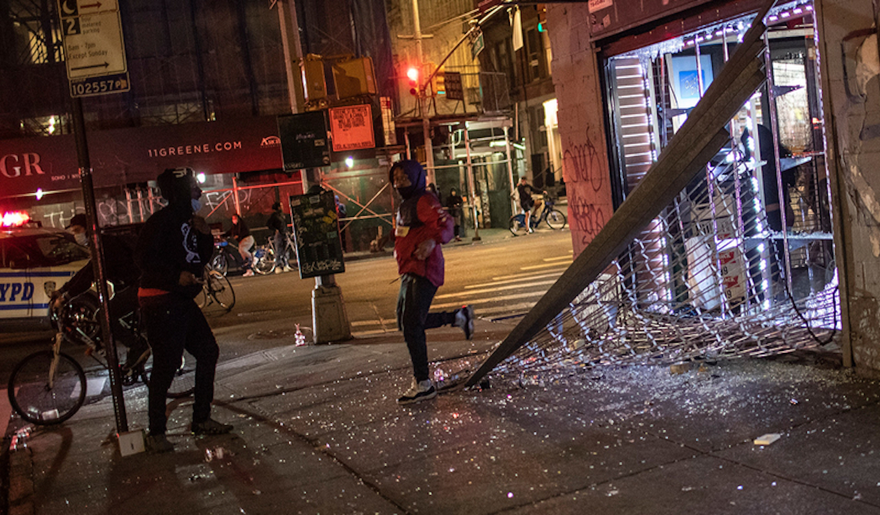 New York City once again faced with violent riots