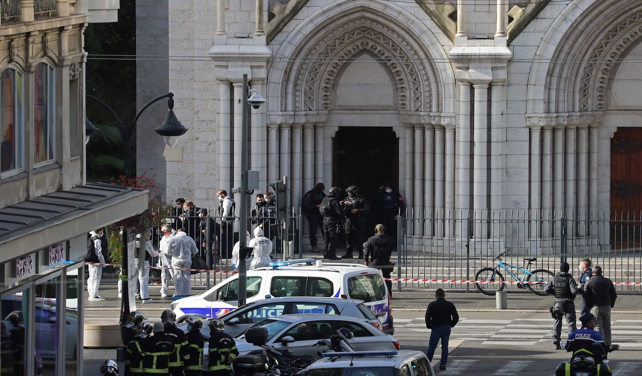 BREAKING: Terror attack in France, woman 'beheaded'