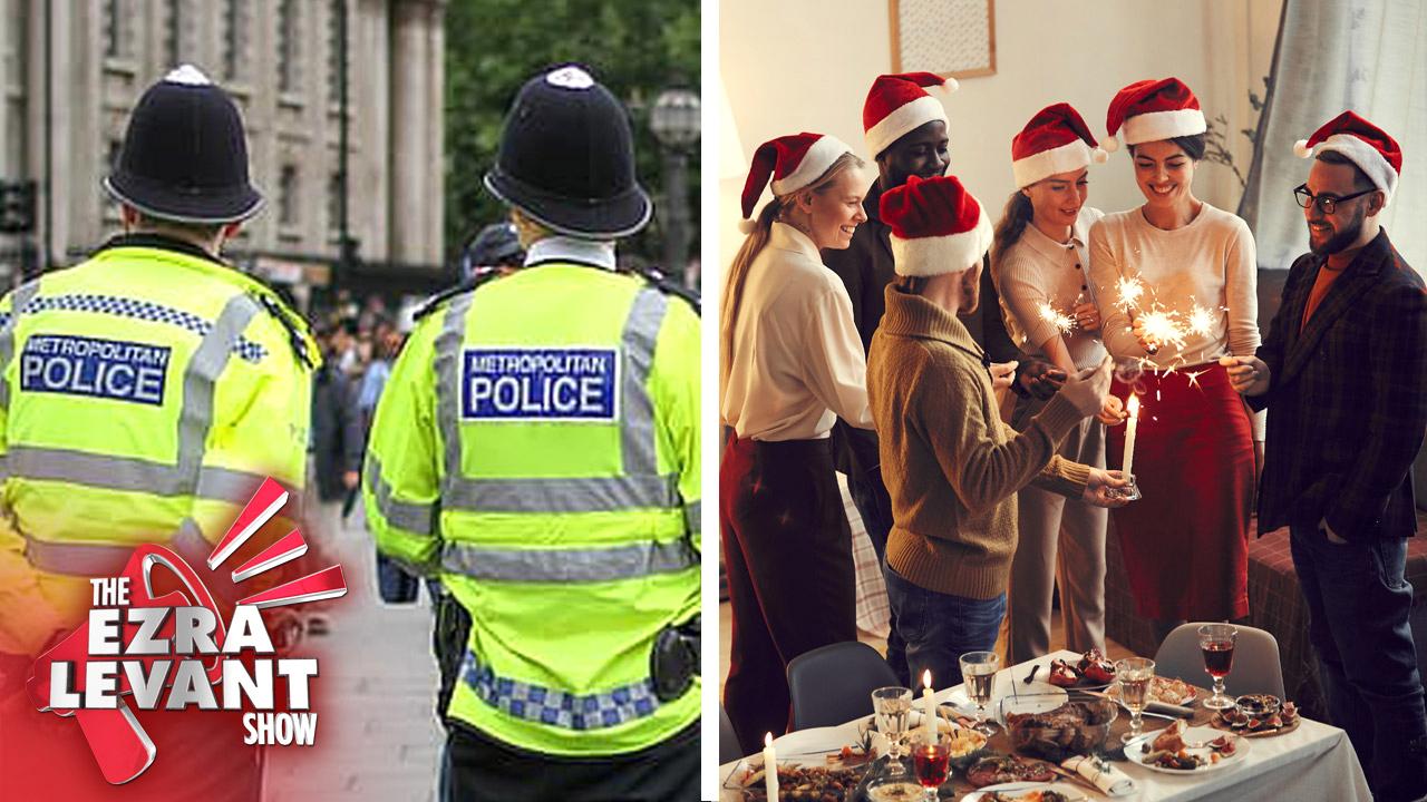 UK police WILL BREAK UP Christmas dinners violating pandemic rules   Ezra Levant talks civil liberty