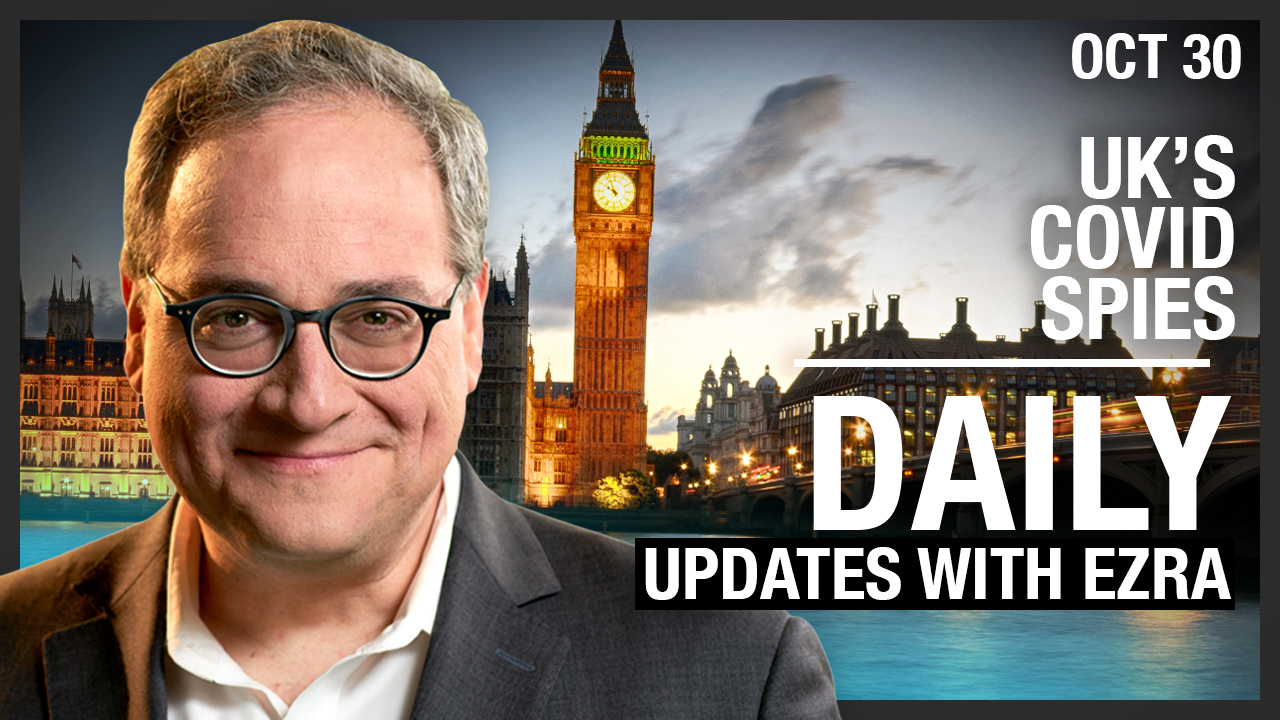 DAILY | UK's COVID Spies! Gyms Under Lockdown, Uyghurs Protest China