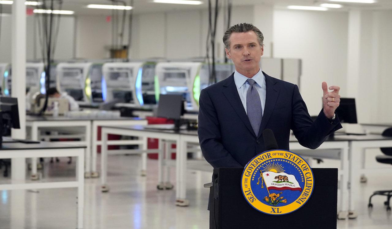 California Gov. Newsom's kids evade COVID lockdowns at private school