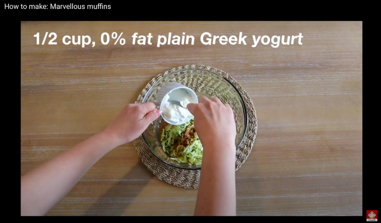 EXCLUSIVE: Health Canada made videos to promote their zucchini muffins, quinoa salad