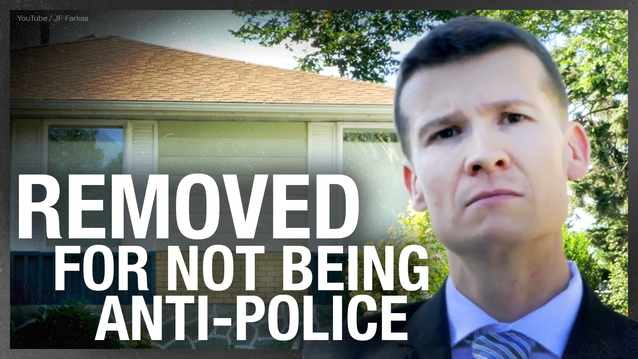 Councillor REMOVED from Calgary Police Commission for not supporting BLM narrative