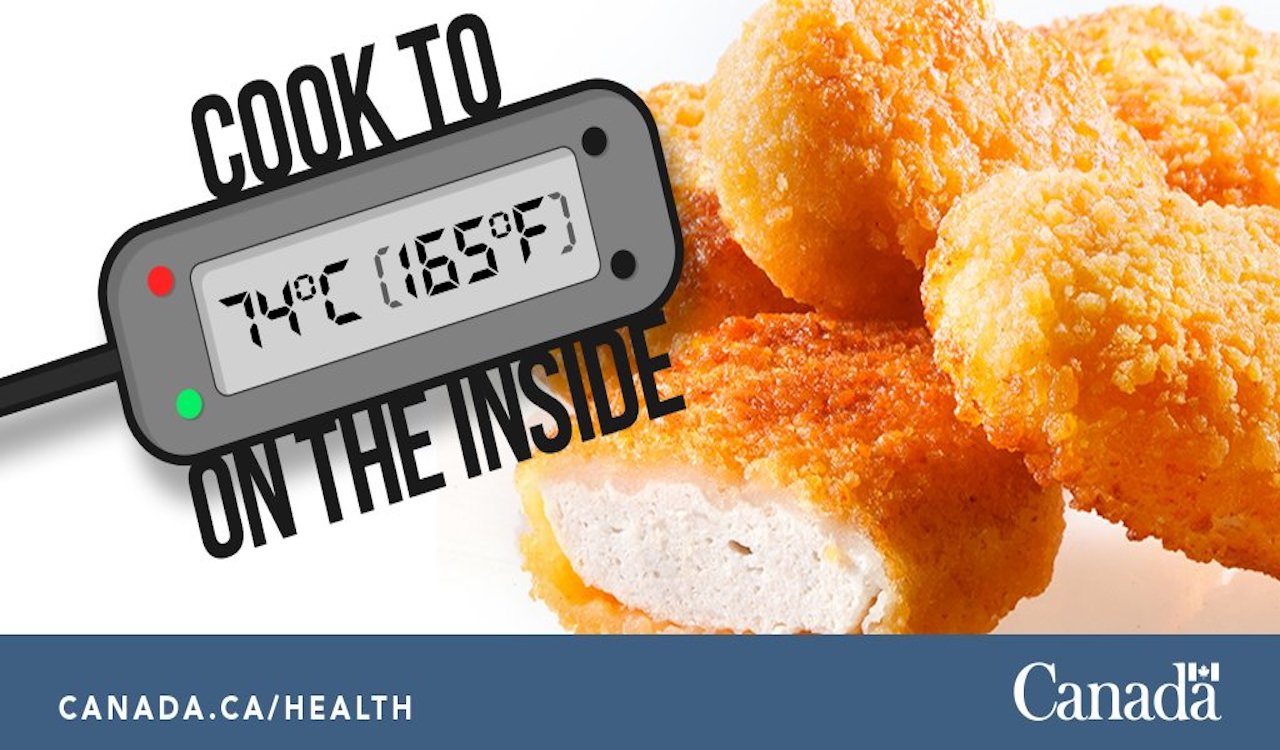 Health Canada spent $7,825 on chicken nugget Salmonella awareness
