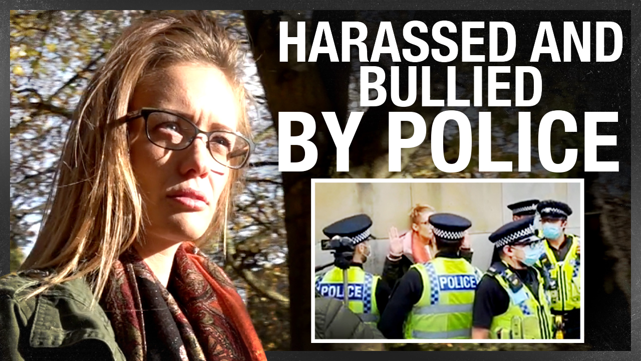 SHOCK VIDEO: West Yorks police handcuff a single mum for criticizing lockdown. Help her fight back!