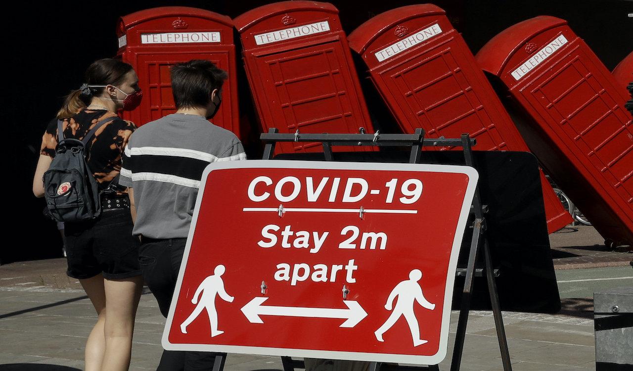 UK to enter month-long lockdown starting November 5