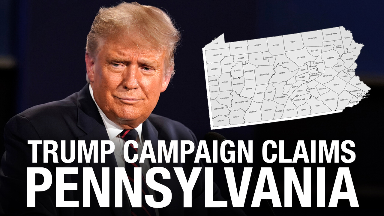Trump claims victory in Pennsylvania, other states still in play
