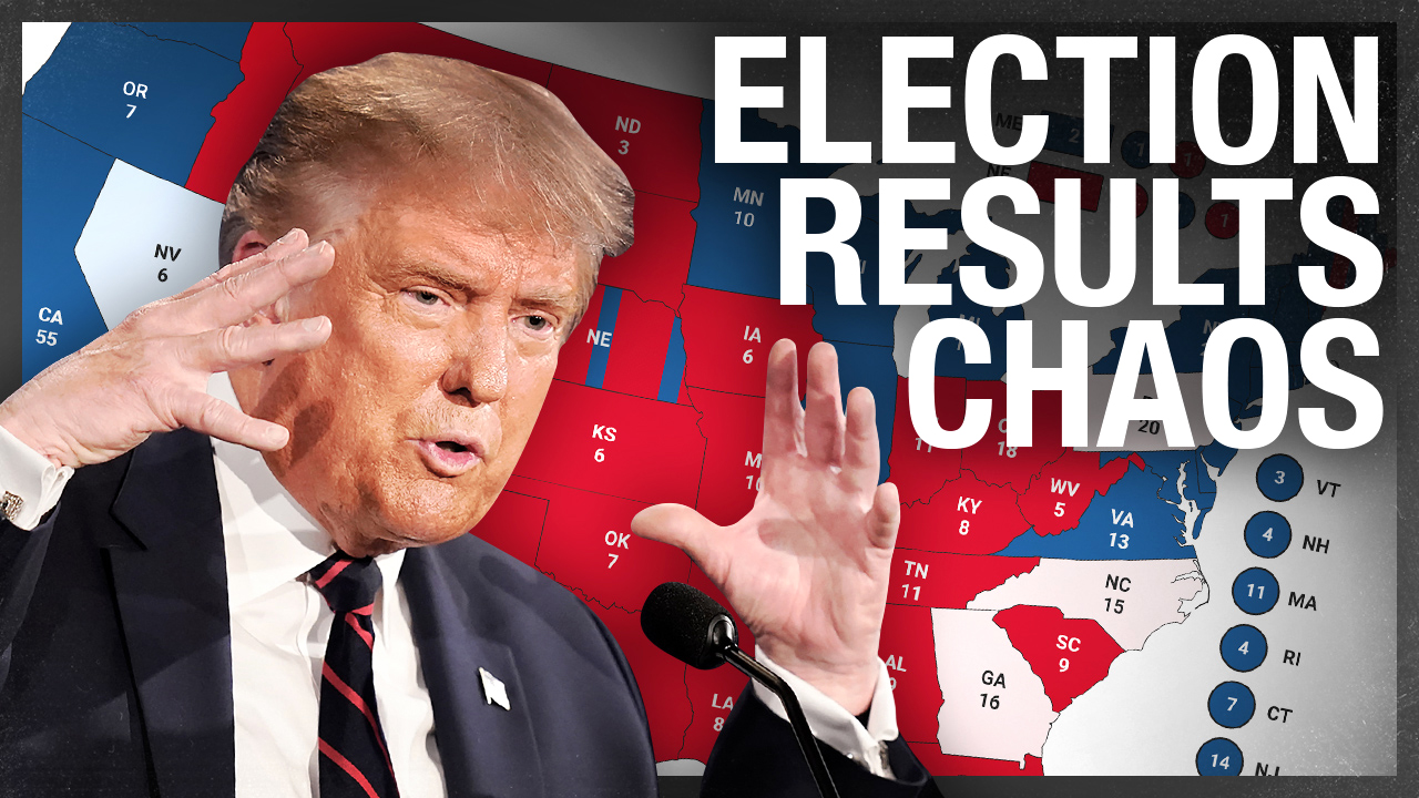 There's a whole lot of malarkey going on with election results | Ezra Levant explains