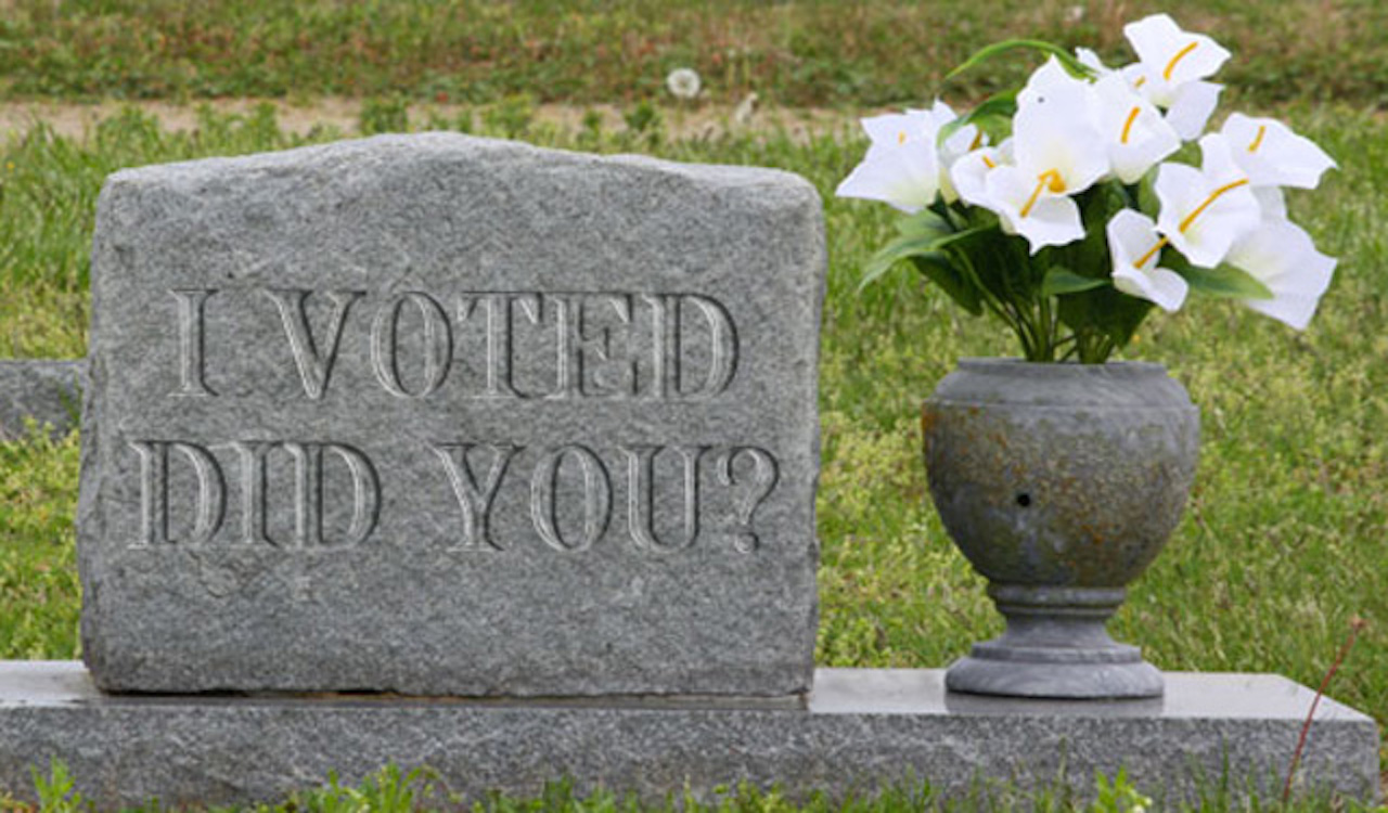 UPDATE: DEAD people allegedly registered to vote in Michigan database