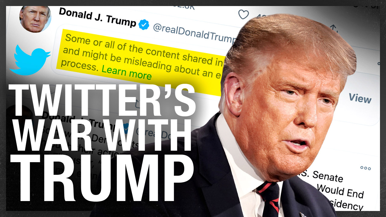 Why didn't Trump see the censorship coming?