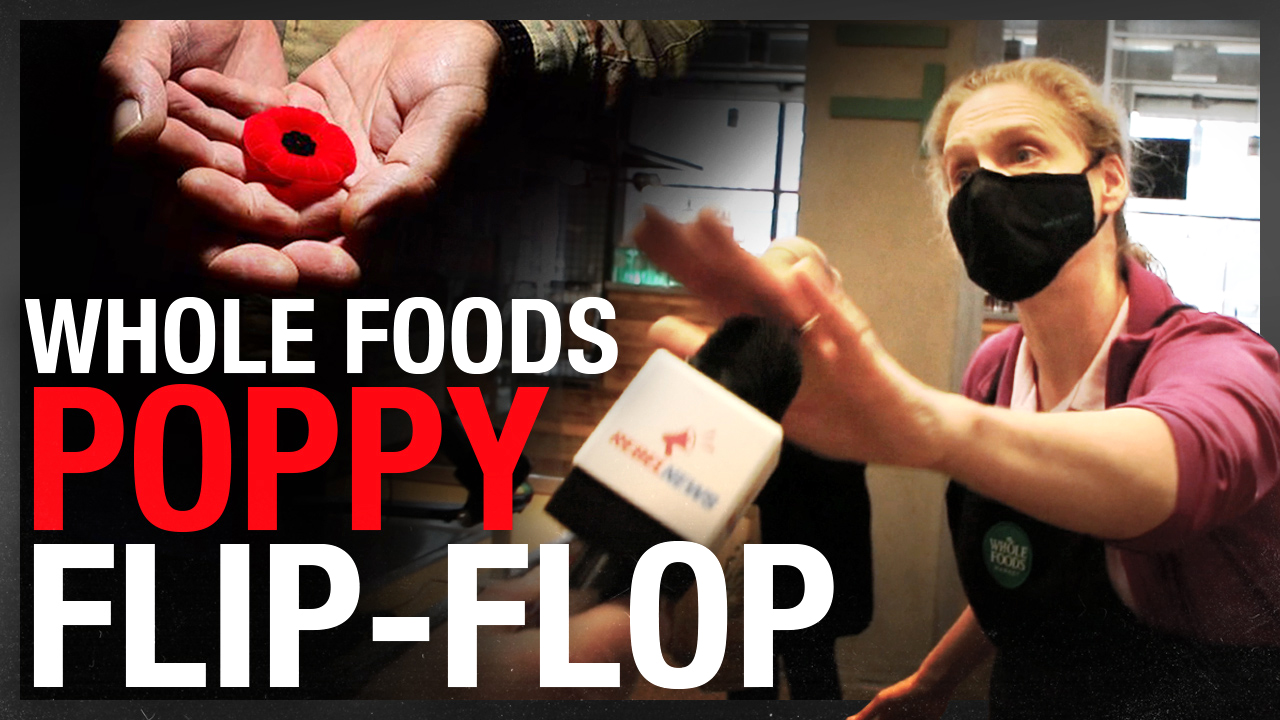 Whole Foods bans employees from wearing poppies — immediately reverses decision after backlash