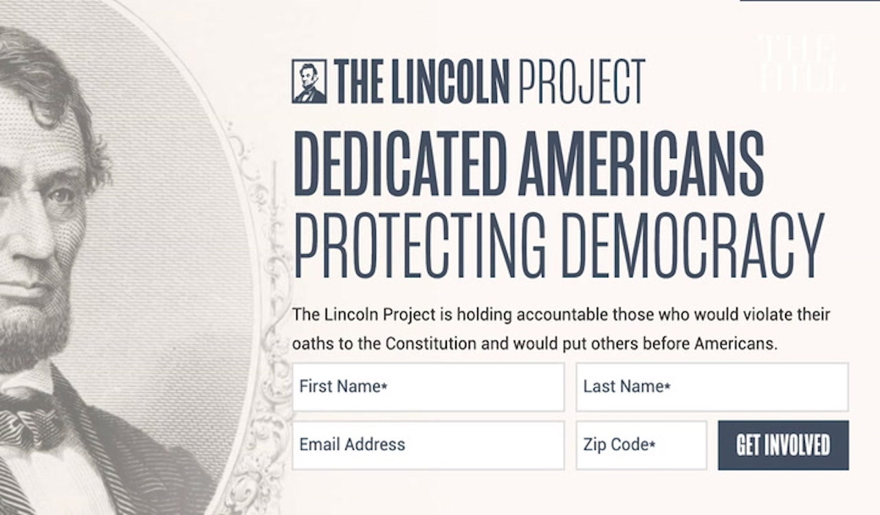 BREAKING: The Lincoln Project doxxes two Trump lawyers
