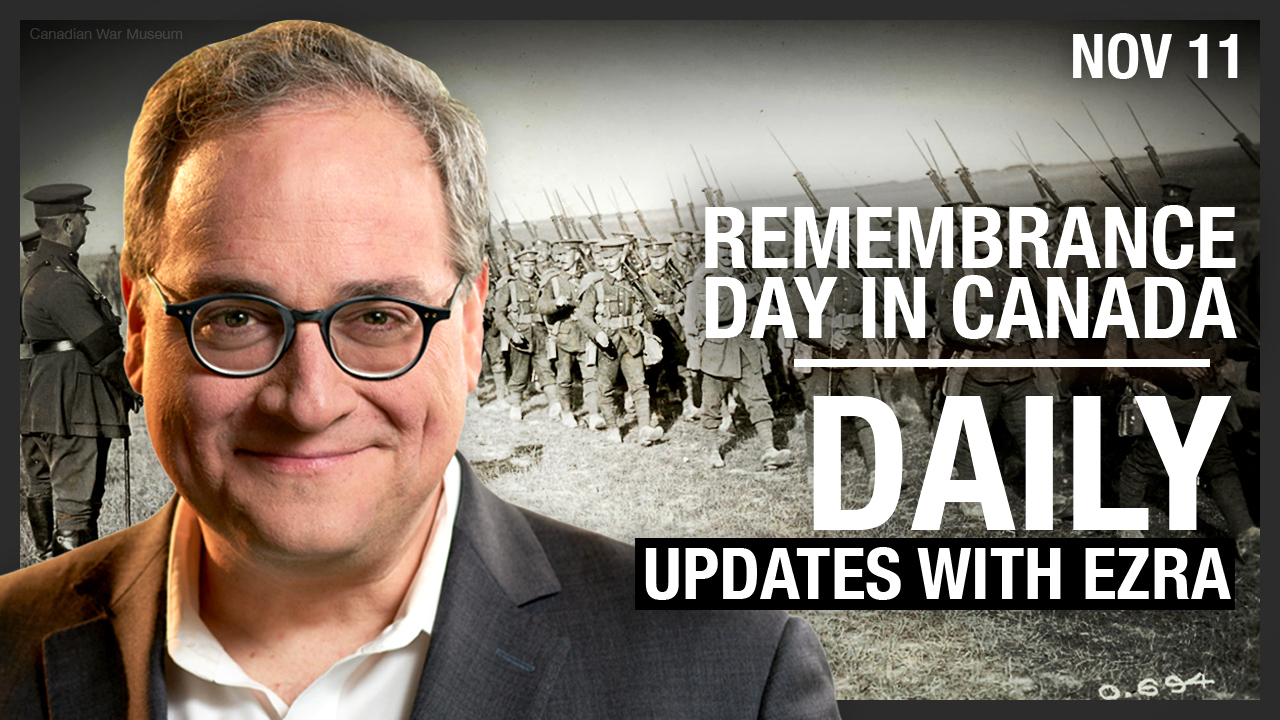 DAILY | Remembrance Day Hijacked by Climate Protest, Facebook Censors 'Dead Voters' Story