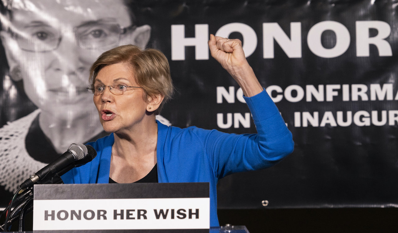 Warren advises Biden to bypass congress with executive orders