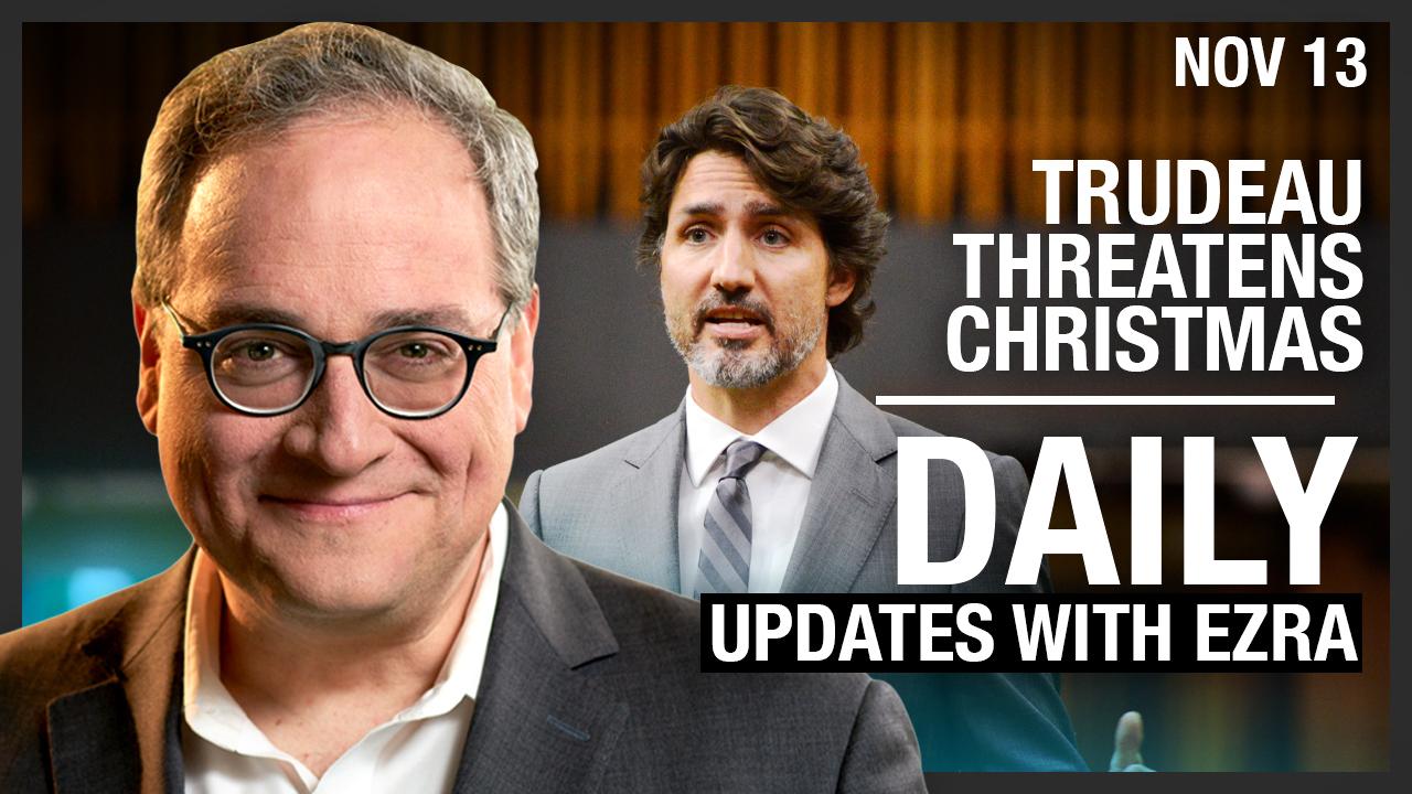 DAILY | Mennonite Churches Shut Down, Trudeau Threatens Christmas
