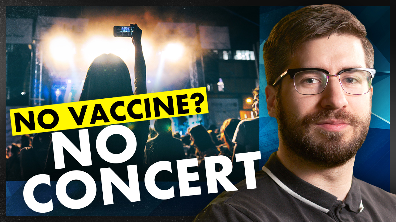 "Ticketmaster ""exploring"" idea of VACCINE REQUIREMENT for concert-goers"