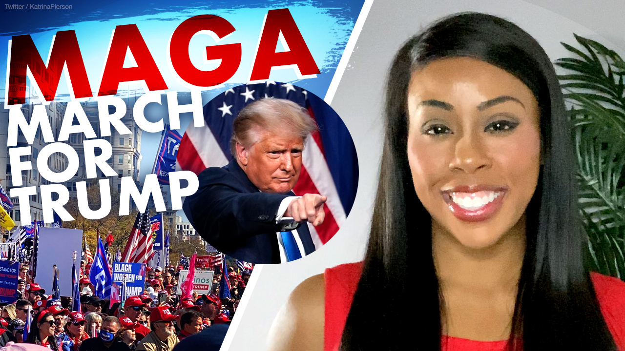 Million MAGA March descends into CHAOS as Black Lives Matter, Antifa ATTACK Trump supporters | Kim Klacik reports