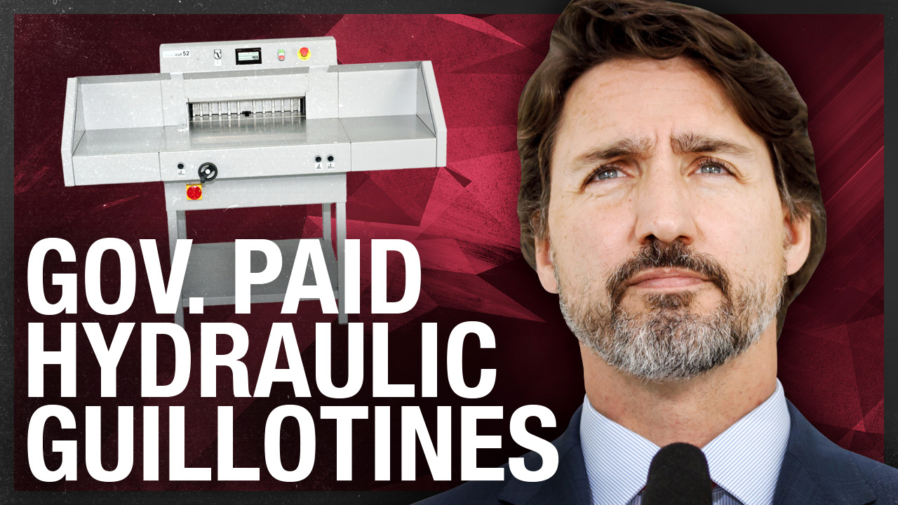"Canadian government ordering ""Hydraulic Guillotines"""