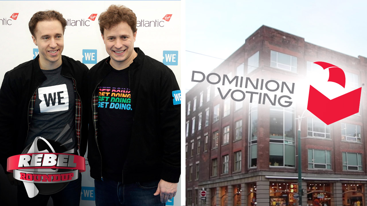 Dominion Voting HQ in Toronto, Ford Nation's WE Charity Funding