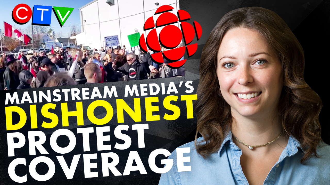 CBC vs. Reality: What REALLY happened at St. Thomas, Ontario's anti-lockdown protest