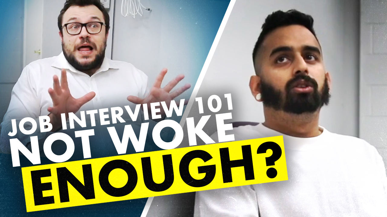 Applying for a job in 2025: The Woke Interview