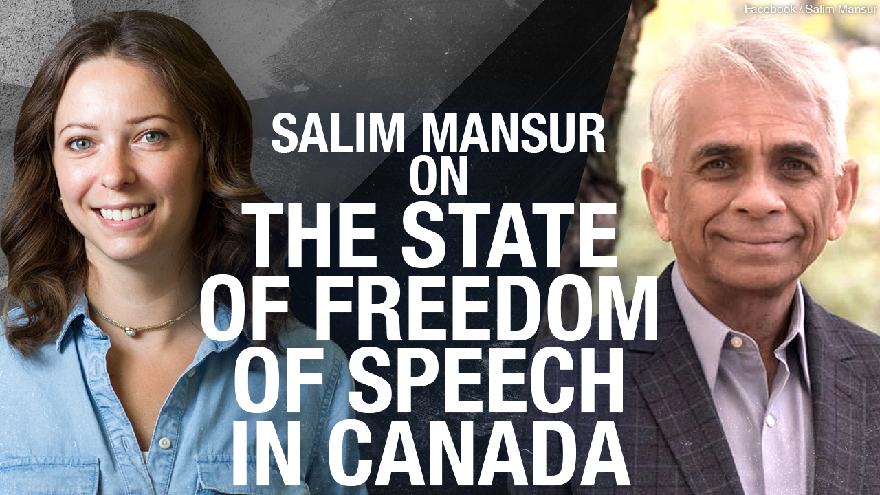 """Once you say there is a limit, there is no free speech"" Prof. Salim Mansur on censorship"