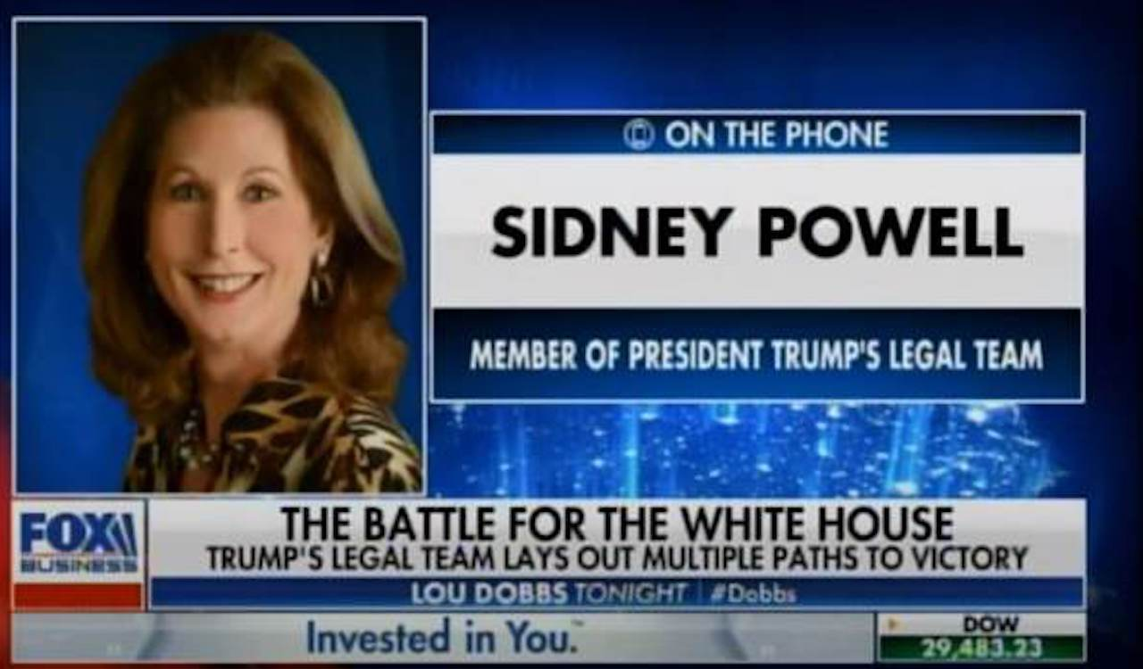 Trump campaign claims Sidney Powell is not on legal team