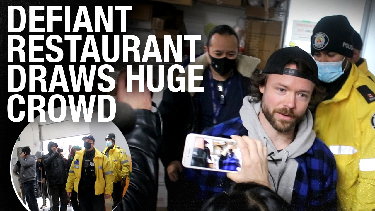 Crowds flock to Adamson Barbecue in support of owner who defied Toronto lockdown