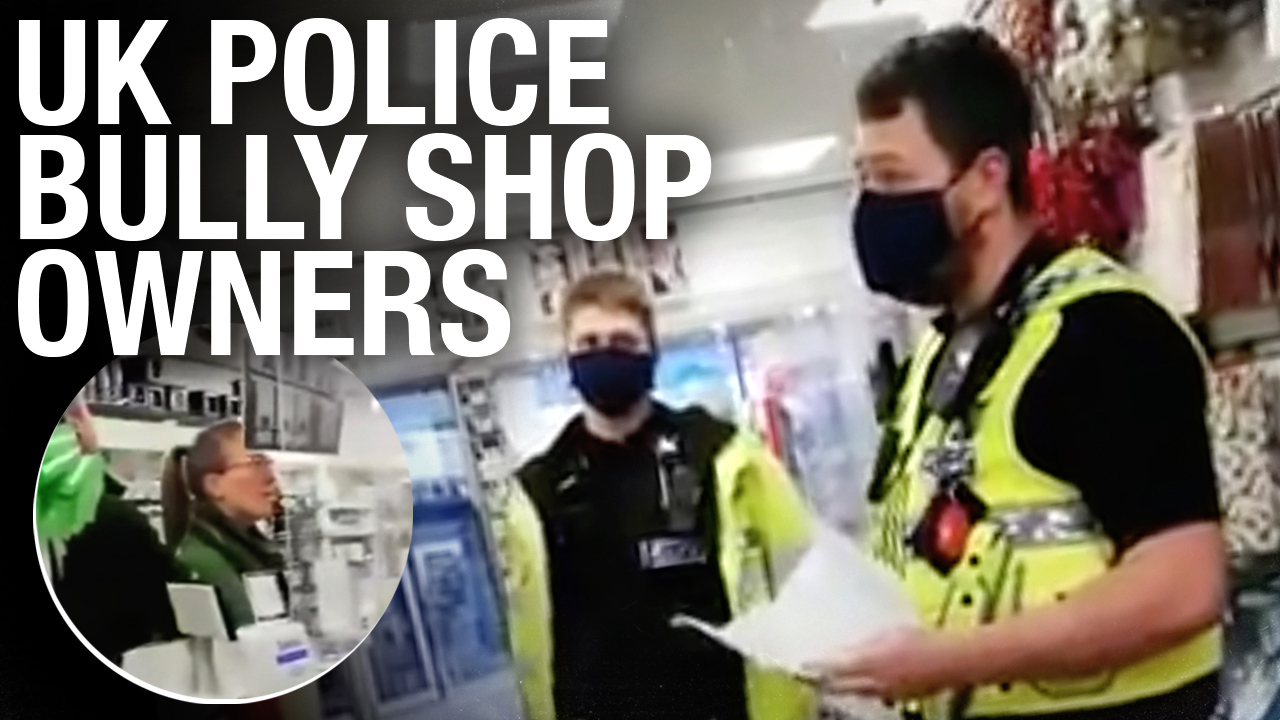 Cops bully UK shop owners trying to compete with Amazon, Walmart and Tesco