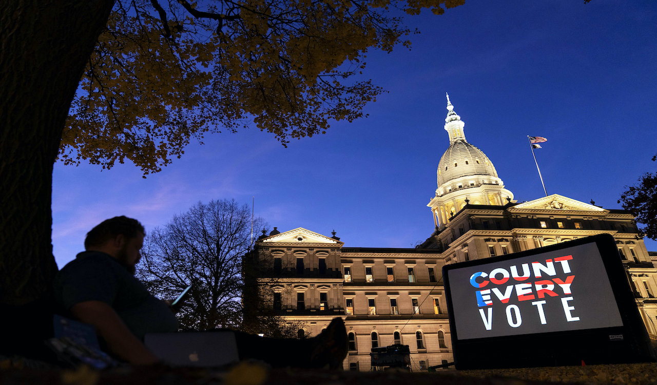 Wisconsin voters file lawsuit to dismiss election results