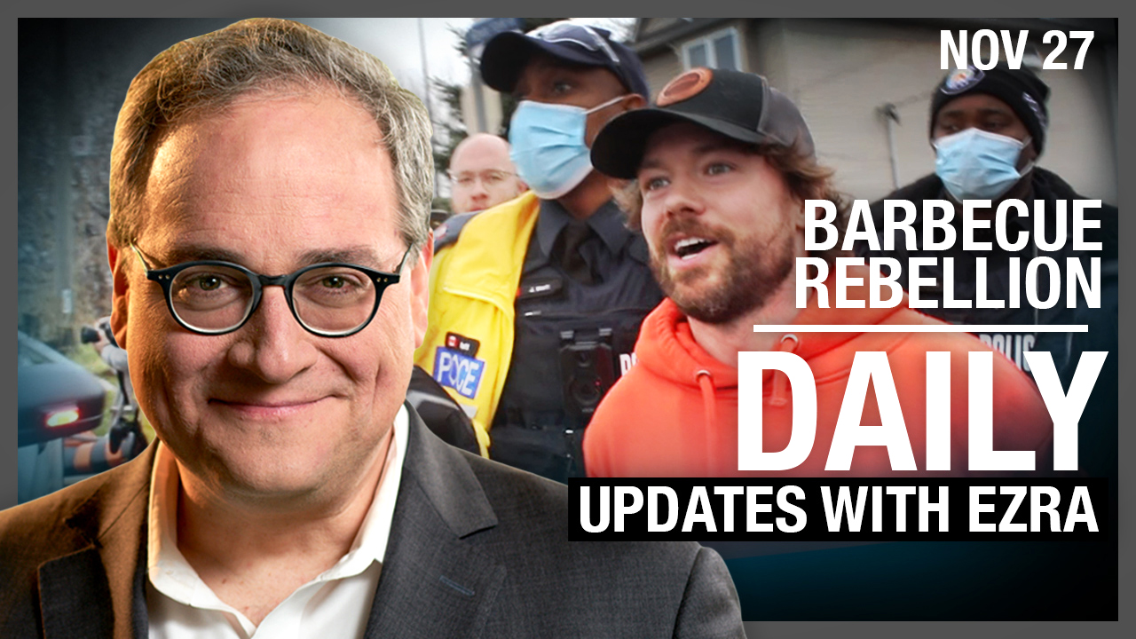 DAILY | Barbecue Rebellion! Bail hearing for Adam Skelly TODAY in Toronto