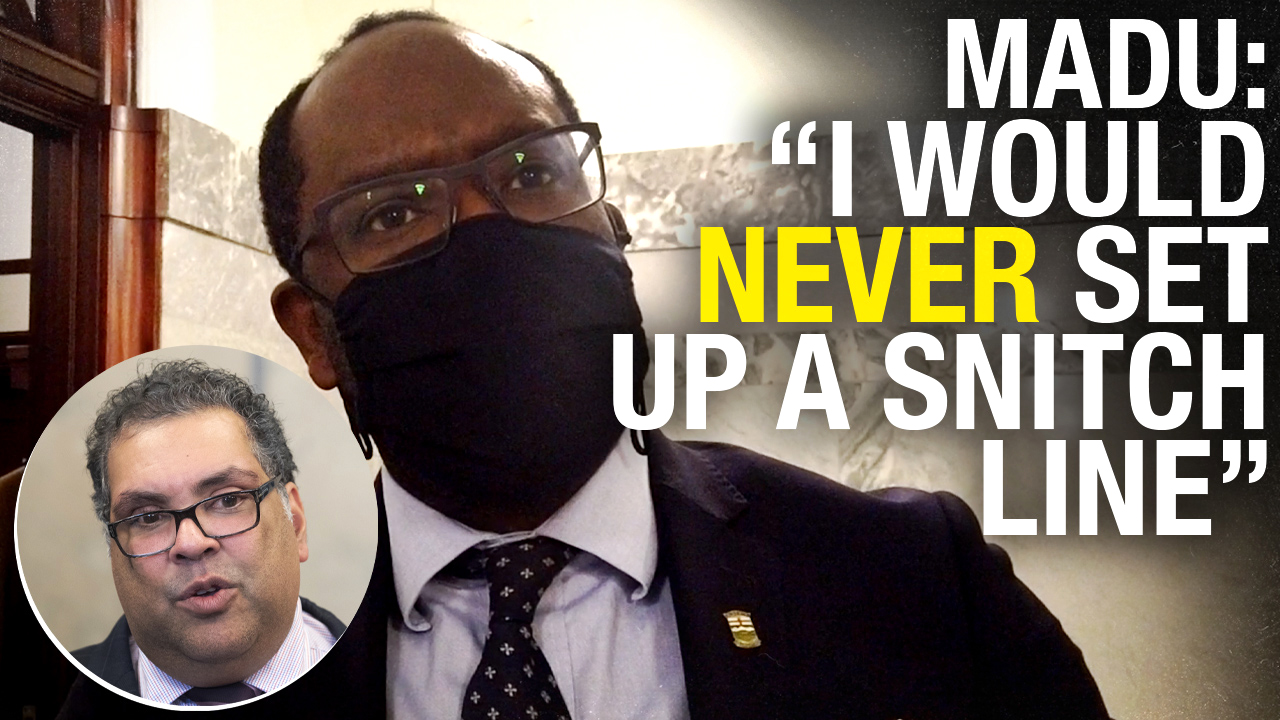 """Never!"" Alberta Justice Minister rejects Calgary Mayor's COVID snitch line idea"