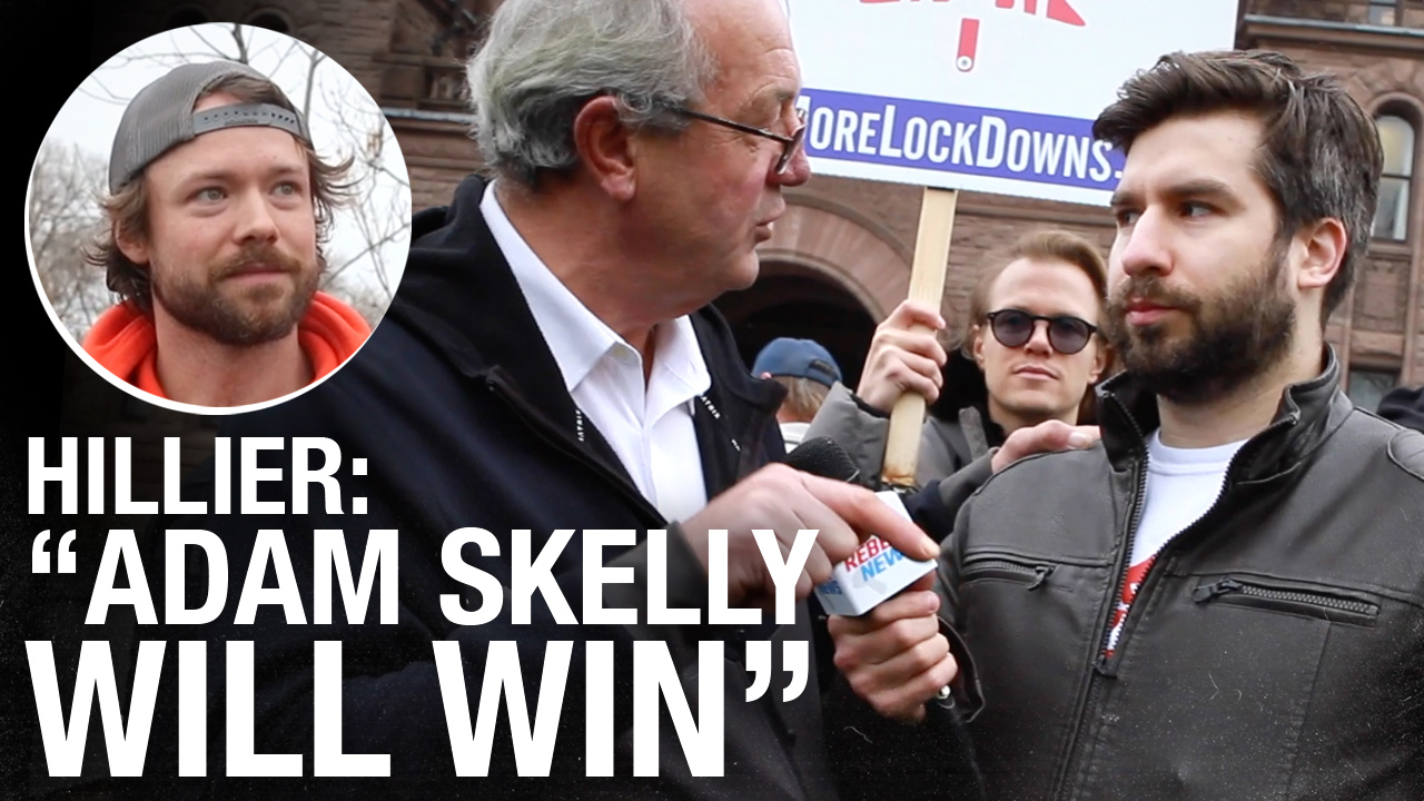 """MPP Randy Hillier ticketed following anti-lockdown """"Pots and Pans Protest"""""""