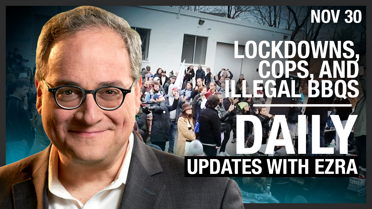 DAILY | Lockdowns, cops, illegal BBQs and a HAZMAT Thanksgiving