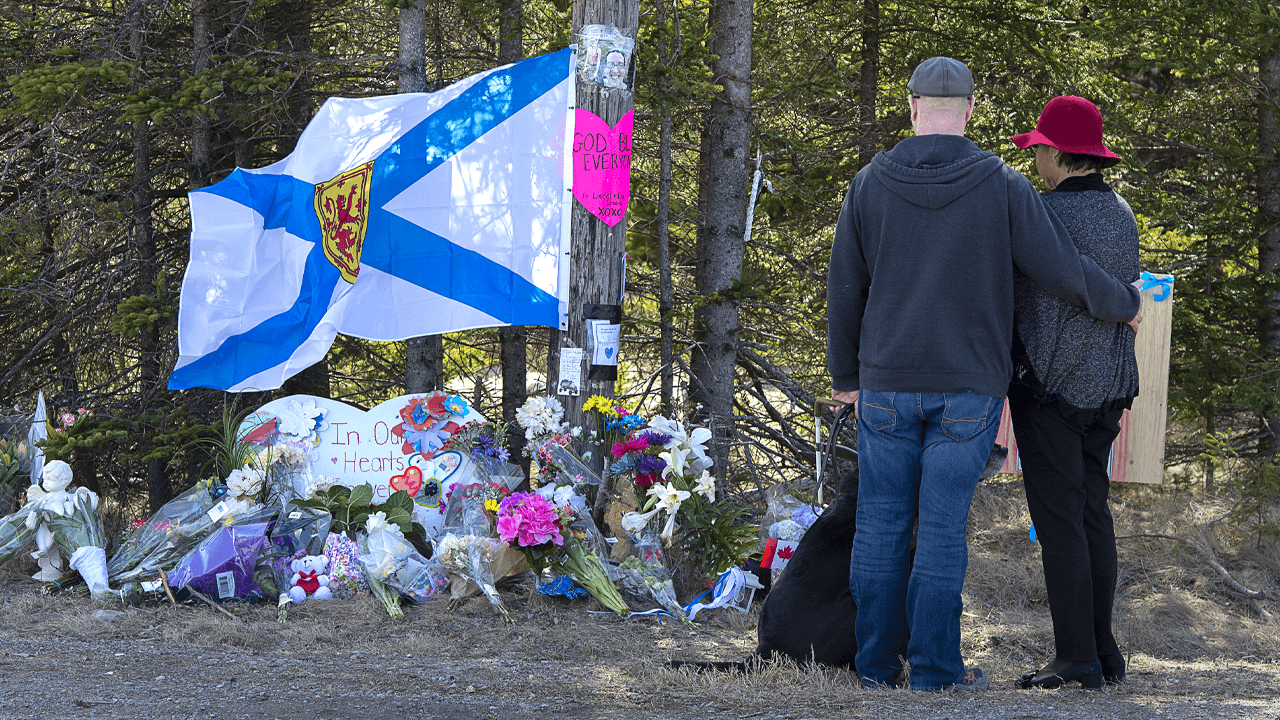 RCMP charge Nova Scotia shooter's common-law spouse with supplying ammo