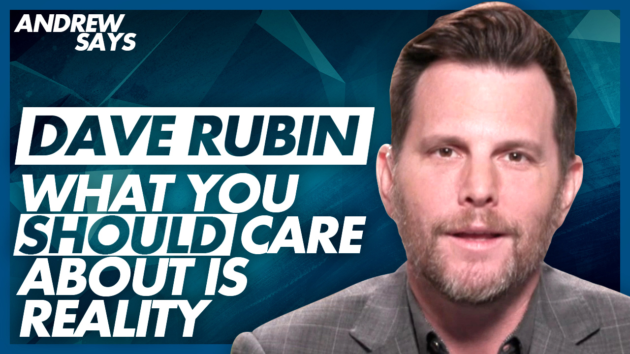 """They put primacy on their feelings"": Dave Rubin on mainstream journalists"