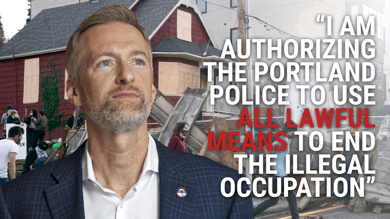 No autonomous zone in Portland, says Mayor Ted Wheeler