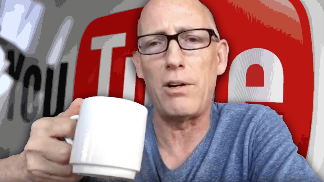 YouTube takes down Scott Adams video criticizing Democrats