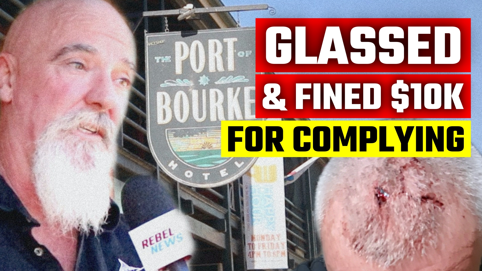 Outback publican speaks out after being ATTACKED and FINED for Covid rules