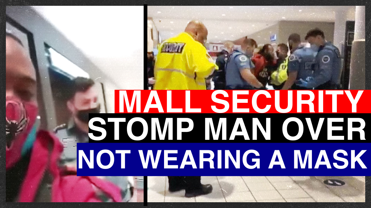 """Mall cops jump Canadian Army Reservist for COVID food court """"belligerence"""""""