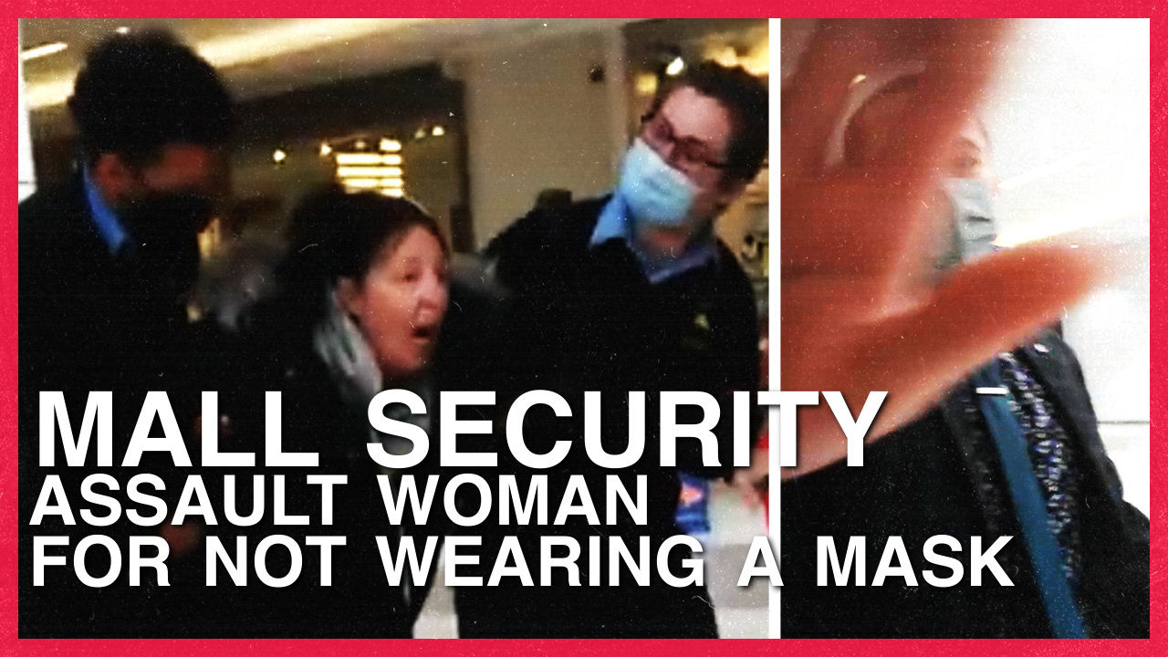 Mall security FORCEFULLY eject woman with PTSD for not wearing a mask — despite exemption