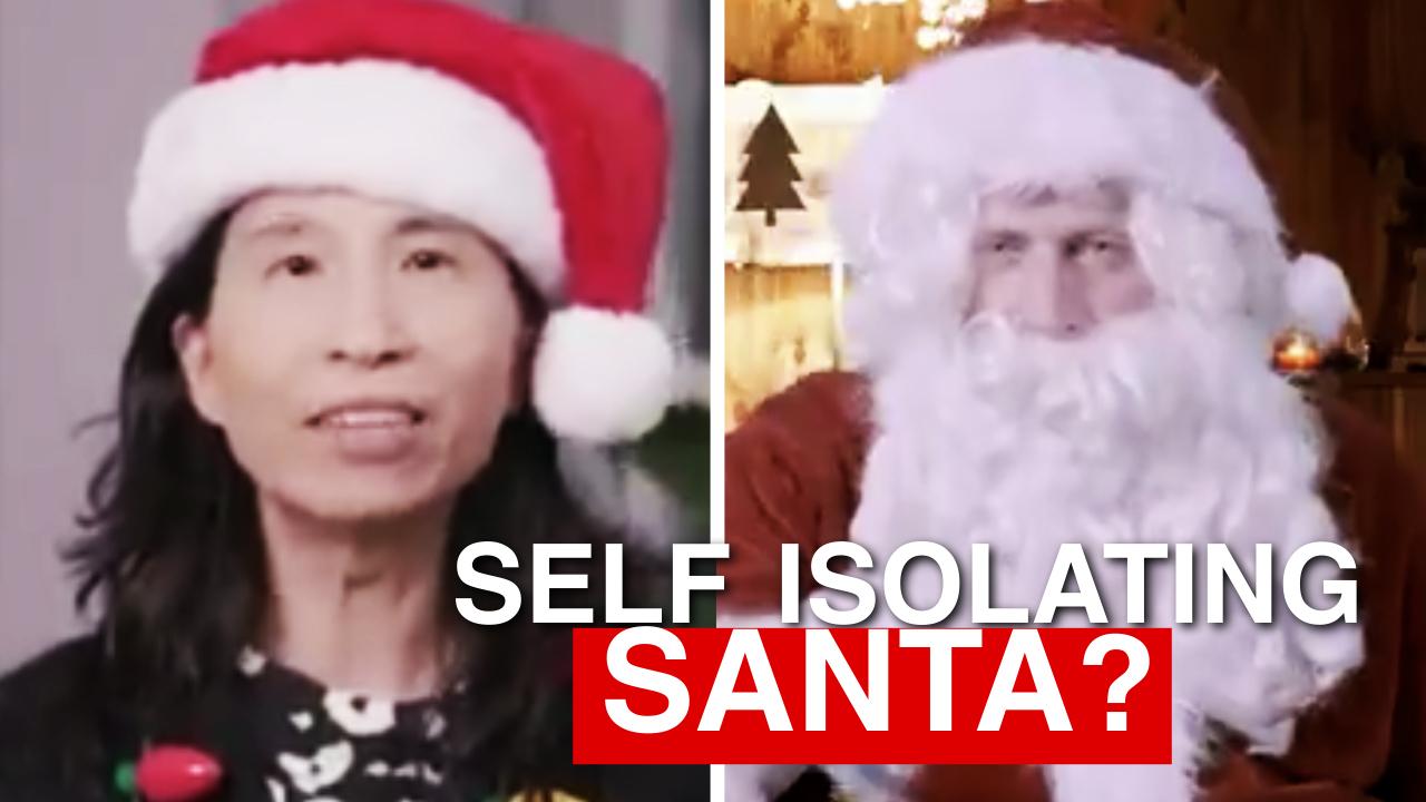 "WATCH: Theresa Tam declares Santa an ""essential worker"""