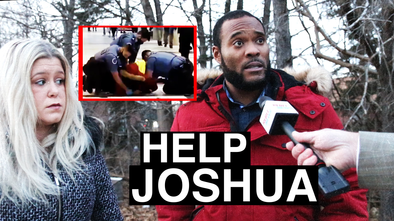 HELP JOSHUA: Mall security TACKLES Canadian Forces member over minor COVID violation