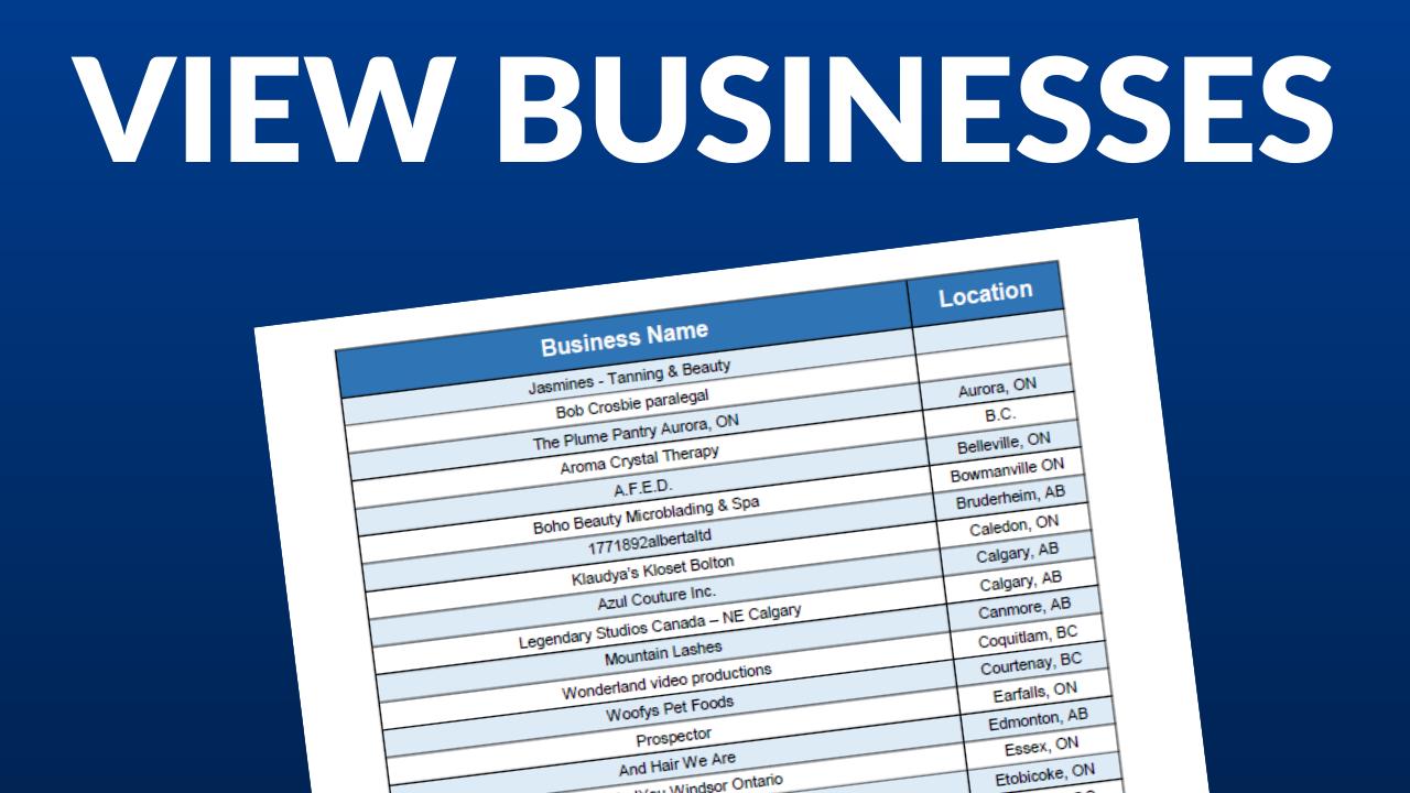 iWillOpen Business List Redirect